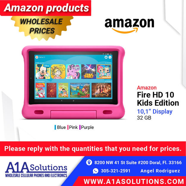 "Amazon Fire HD 10"" Kids Edition"