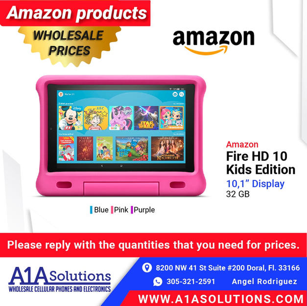 "Amazon Fire HD 10"" Kids Edition"