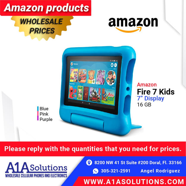"Amazon Fire 7"" Kids"