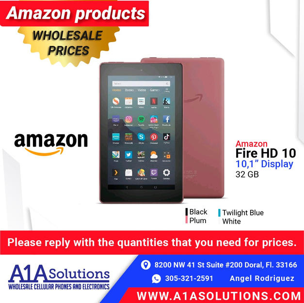Amazon Fire HD 10""