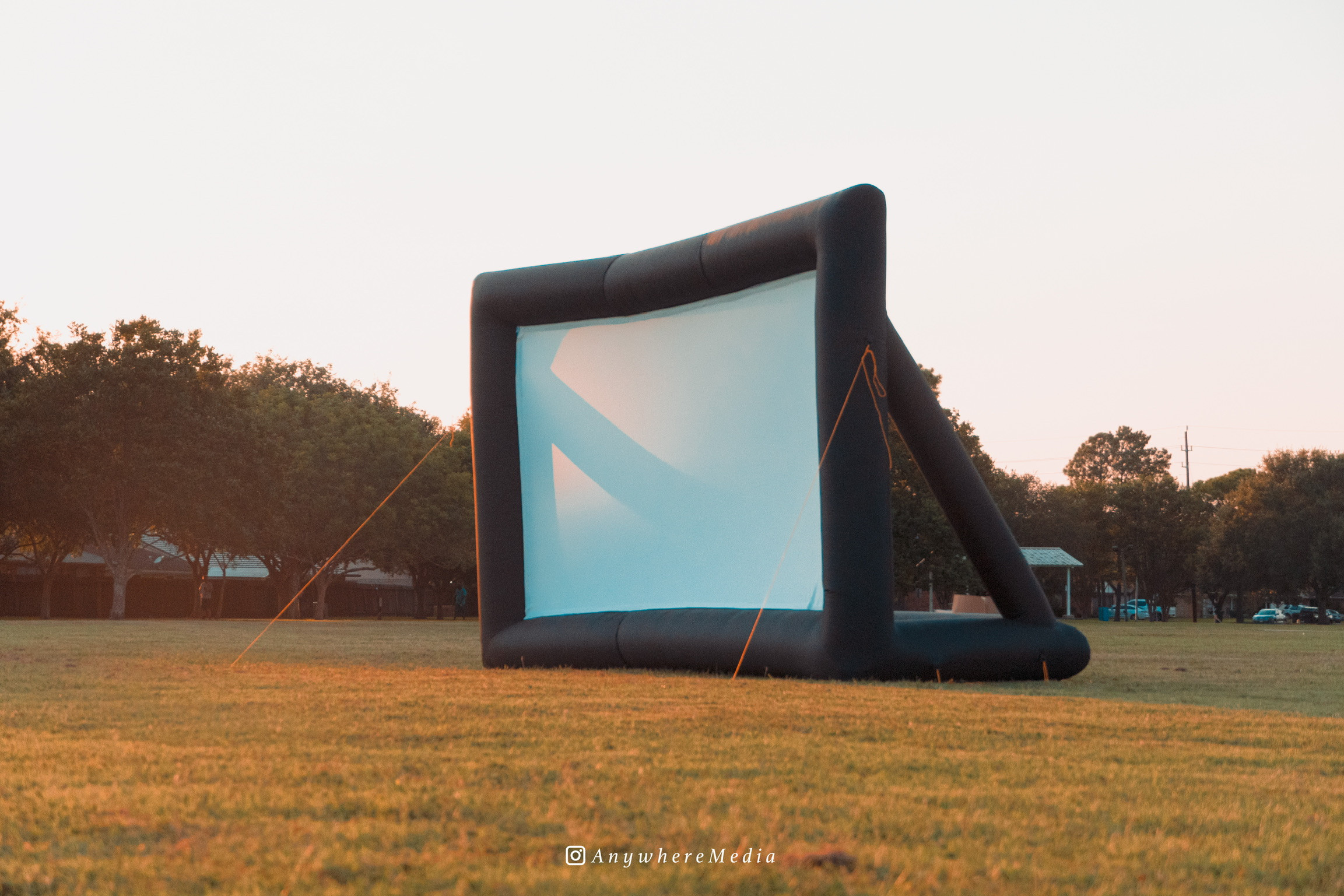 14-Foot Screen Delivery & Set Up