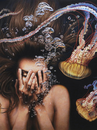 """ABYSS 39"""" X 28"""""""