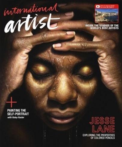 International Artist Magazine Cover