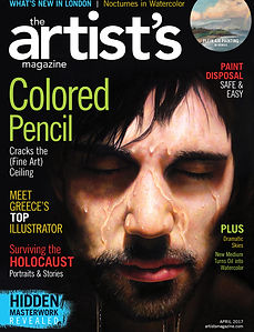 Magazine Cover about colored pencil