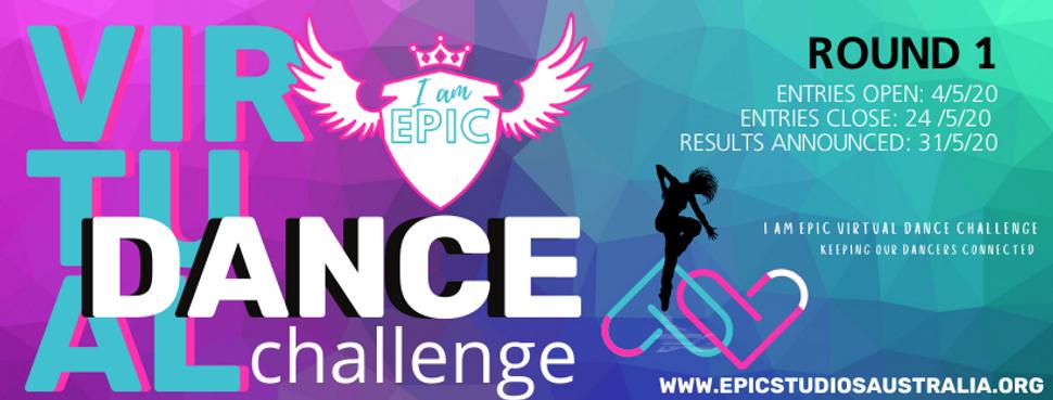 Copy of VIRTUAL DANCE CHALLENGE  round 1