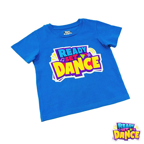 READY SET DANCE T SHIRT