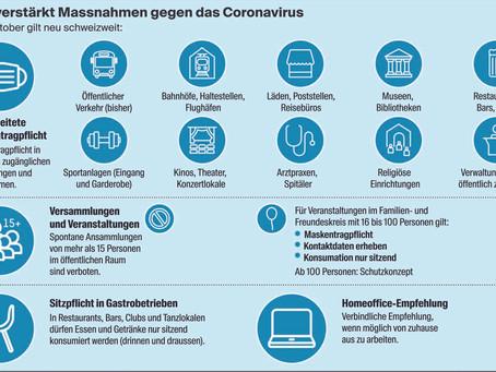 Bund verstärkt Massnahmen gegen das Coronavirus