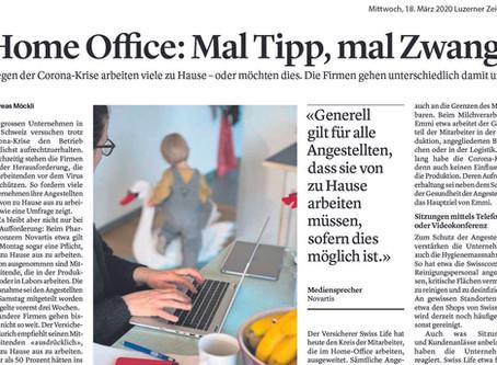 Home Office: Mal Tipp, mal Zwang