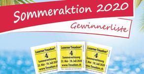 Gewinner Sommeraktion 2020