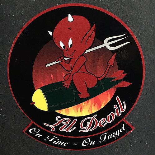 """Lil Devil Decal 5 1/4"""" X 6"""""""