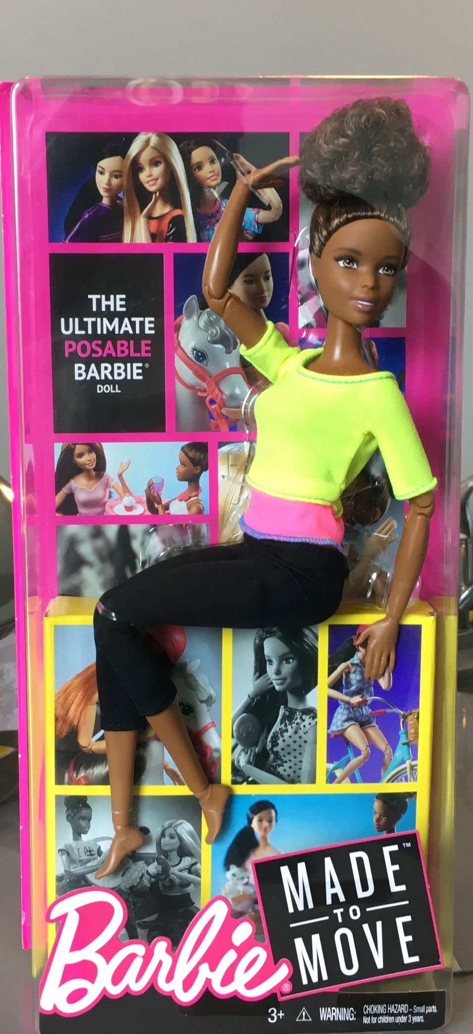 Yoga Barbie