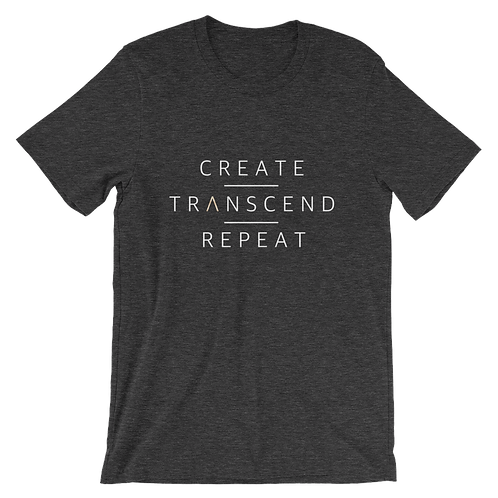 Create I Transcend I Repeat - T-shirt