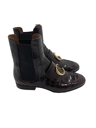 Chloe C Flat Chelsea Boot