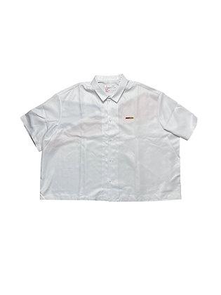 Pyers Moss x Reebok White Button Up Shirts