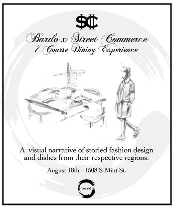 Bardo x SC Dinner Experience (Read Description)