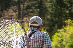Canyon fly fishing