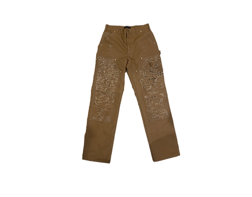Brown Distressed Carhartt Pants