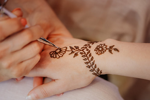 Henna Tattoo Design Certification