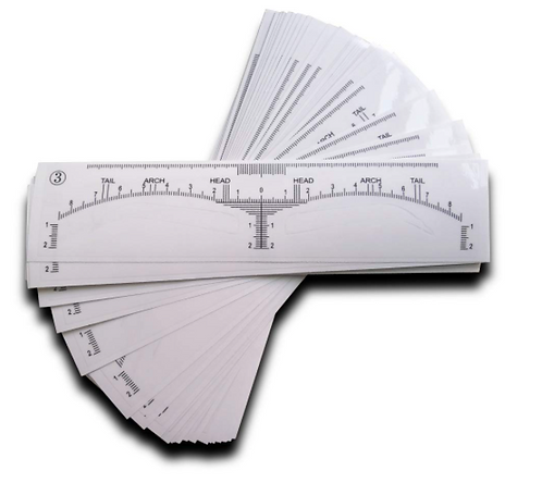 Eyebrow Mapping Stickers (20)