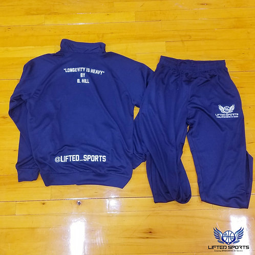 Navy Lifted Sports Tracksuits