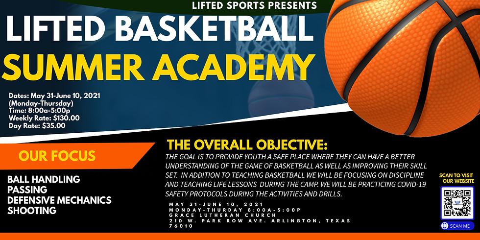 Lifted Basketball Summer Academy Week 1
