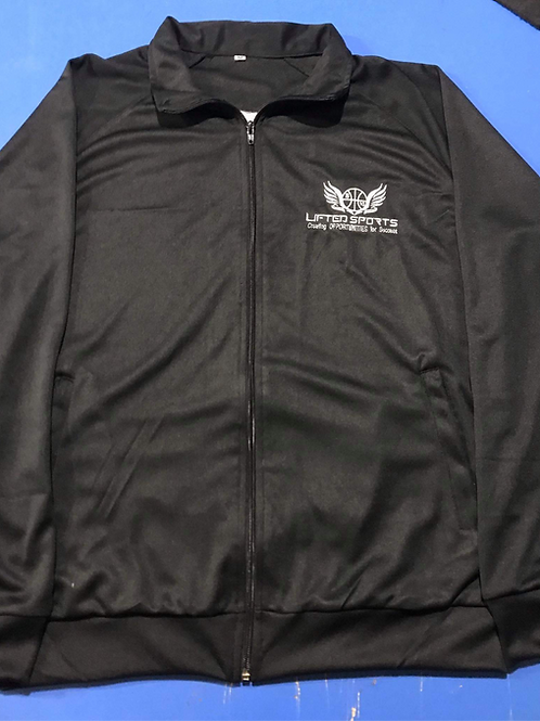 Black Lifted Sports Tracksuits
