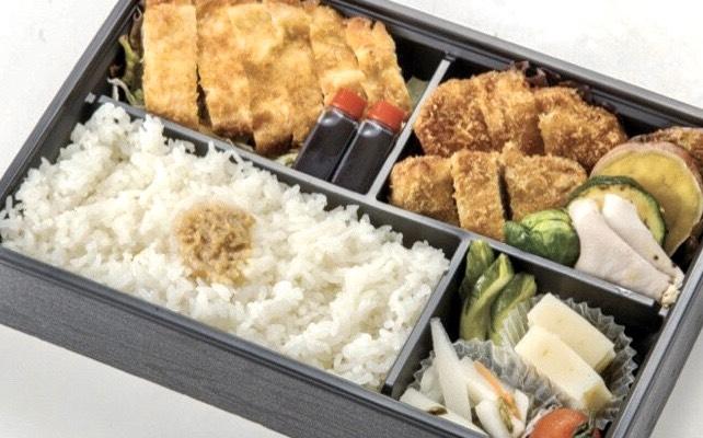 ~弁当~黒豚ダブルかつ和膳 2,000円
