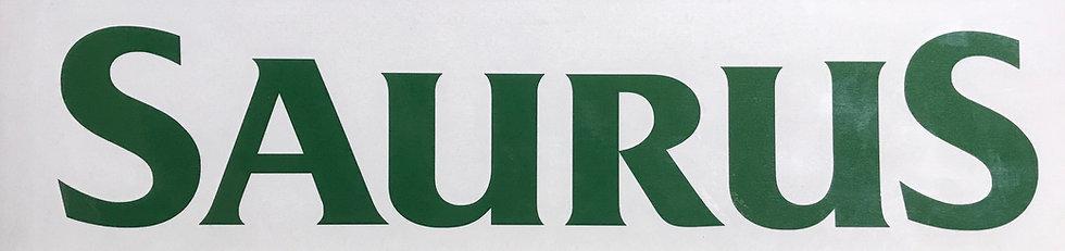 SAURUS(湾曲) ウィンドウデカール L