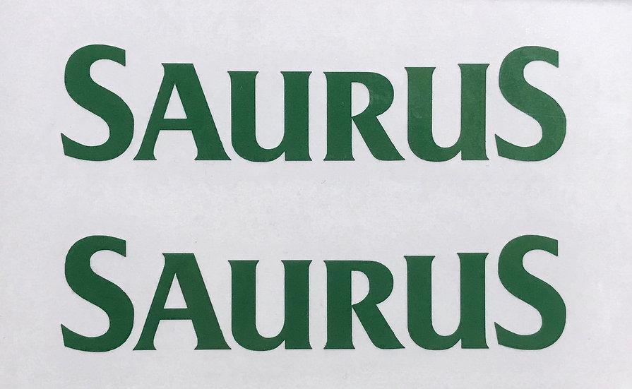 SAURUS(湾曲) ウィンドウデカール SS