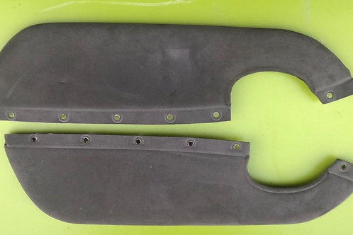 MGF / MG TF GREY SUEDE DOOR CARD INSERTS