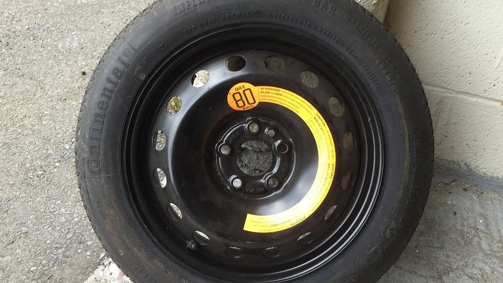 Alfa Romeo 156 spare wheel