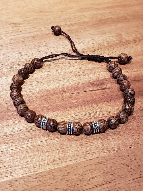 Bracelet de perle tigré