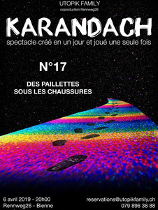 KARANDACH by UTOPIK FAMILY Affiche : Thierry Grünig