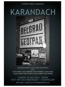 KARANDACH by UTOPIK FAMILY Affiche : Fabrice Bessire
