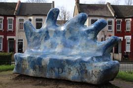 The Big Blue Hand