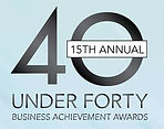 Top 40 under forty business achievement