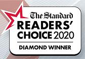 2020 Readers Choice Award Diamond Winner