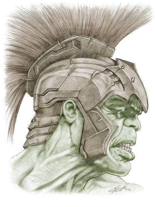 Gladiator HULK- poster