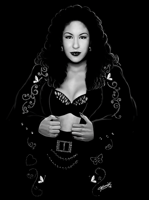 Selena - Blax Series Poster