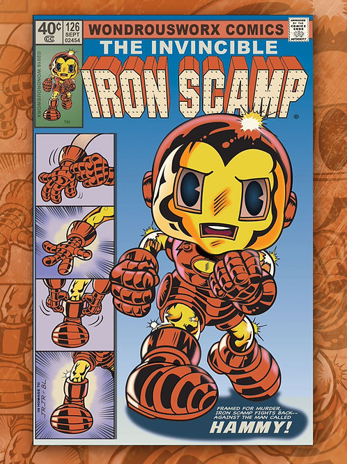 Iron Scamp - Scrappy Toon