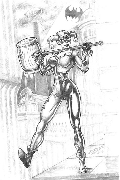 Harley Quinn - watch your step!