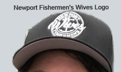 Newport Fishermen's Wives Hat Original Logo