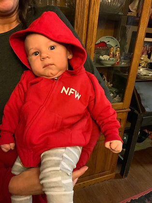 Baby F/V Lil'Fisher zip up hoodies