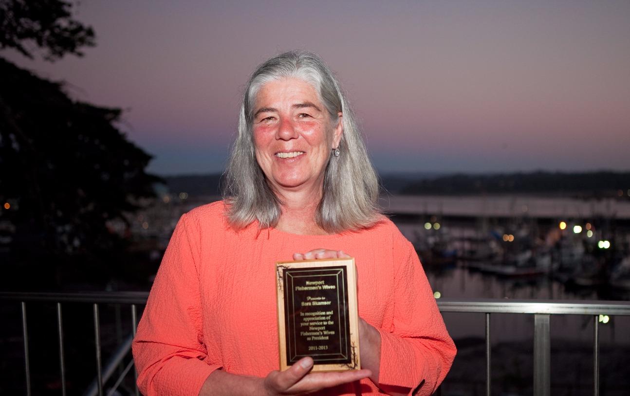 Sara Skamser Honored