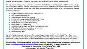 Catering Manager Vacancy