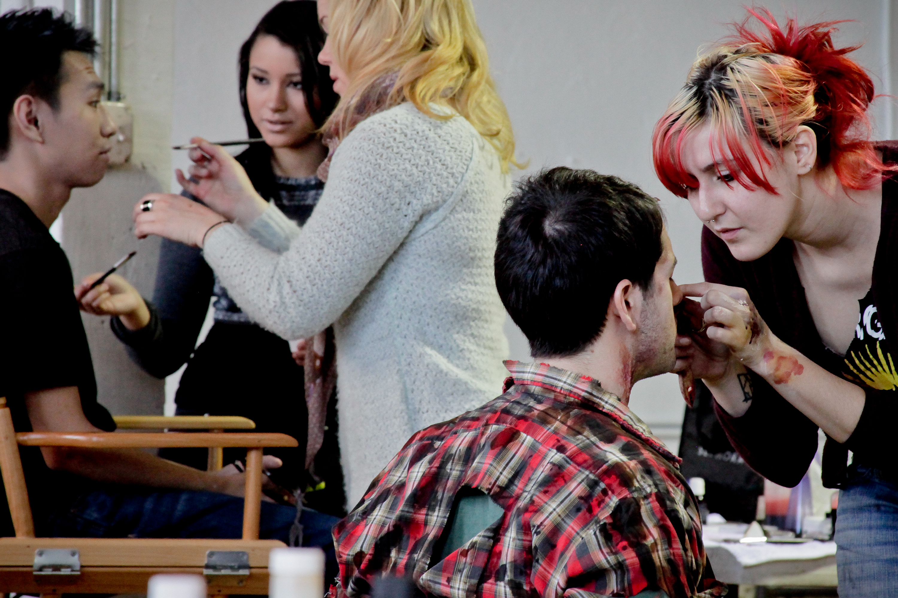 Special Effects Make-up Artists