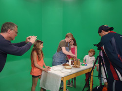 Filming Green Screen Production