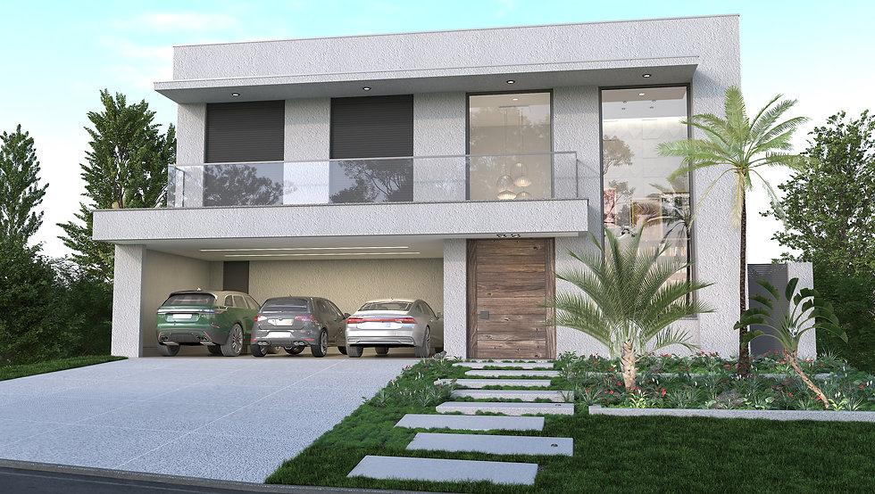 arquitetura moderna alphaville e aldeia