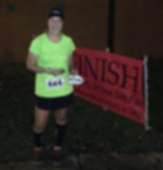 Reason 2 Run, LLC founder, ultramarathon finish