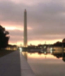 Washington Monument before Navy - Air Force Half-Marathon